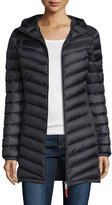 Bogner Hooded Lightweight Down Jacket, Black