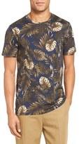 Vince Men's Leaf Print T-Shirt