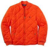 Ralph Lauren Boys 8-20 Diamond Quilted Baseball Jacket