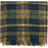 Dorothy Perkins Womens Yellow Tweed Boucle Scarf- Yellow