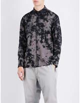 Issey Miyake Tie-dye regular-fit cotton shirt