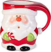 Fitz & Floyd Merry Santa Character Mug
