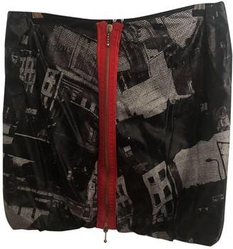Alexander McQueen Black Viscose Skirts