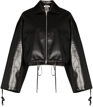 Supriya Lele Cropped Coated Jacket