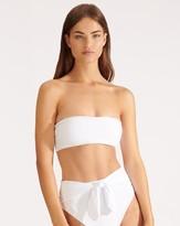 Veronica Beard Catarina Bandeau Bikini Top