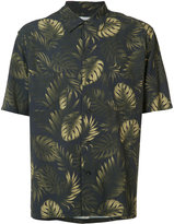 Vince leaf print shirt - men - Viscose - M