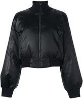 DKNY satin bomber jacket