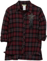 Little Mass Alpha Flannel Shirt (Little Girls & Big Girls)