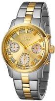 """JBW Women's JB-6217-C """"Alessandra"""" Two-Tone Chronograph Diamond Watch"""