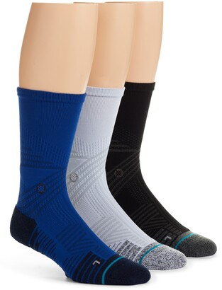 Stance Assorted 3-Pack Athletic Crew Socks