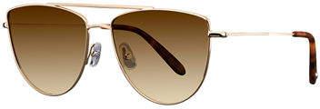 Garrett Leight Zephyr Side-Shield Gradient Sunglasses