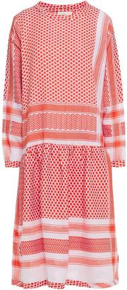 Cecilie Copenhagen Josefine Cotton-jacquard Midi Dress
