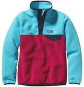 Patagonia Girls' Lightweight Synchilla® Snap-T® Fleece Pullover