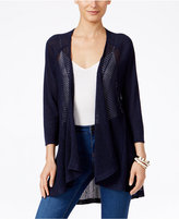 Style&Co. Style & Co High-Low Lightweight Cardigan, Only at Macy's