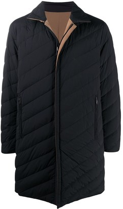 Theory Zip-Up Padded Coat