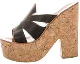 K Jacques St Tropez Slide Platform Sandals