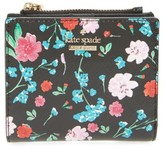 Kate Spade Women's Cameron Street - Jardin Adalyn Faux Leather Wallet - Black