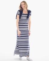 Chico's Laurel Striped Maxi Dress