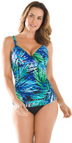Chico's Cool Tropics Tankini Top