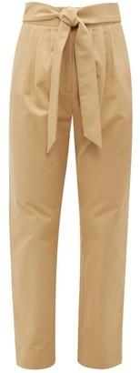 Merlette New York Kinabalu Cotton-twill Trousers - Womens - Brown
