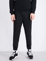 McQ Tailored wool jogging bottoms