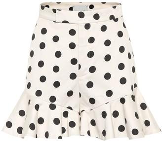 Johanna Ortiz Exclusive to Mytheresa San Blas polka-dot cotton shorts