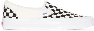 Vans Old Skool Checkerboard slip-on sneakers