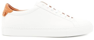 Givenchy Urban Street Low-top Leather Trainers - Womens - Tan White