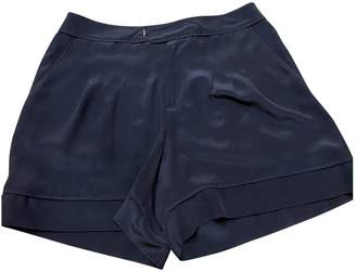Marc by Marc Jacobs Black Silk Shorts