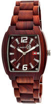 Earth Wood Sagano Red Bracelet Watch with Date ETHEW2403