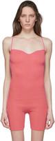 Jacquemus Pink Le Body Arancia Bodysuit