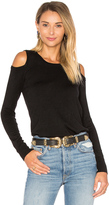 Central Park West Brighton Cold Shoulder Sweater
