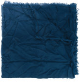Faliero Sarti fringed edge scarf - women - Silk - One Size