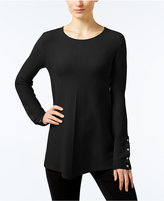 Alfani Ribbed Swing Sweater, Only at Macy's