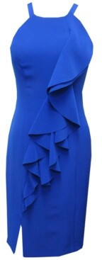 Vince Camuto Halter Bodycon Dress
