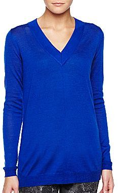 Mng By Mango® V-Neck Tunic Sweater