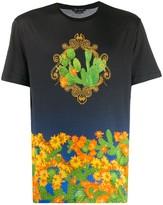 Versace cactus print T-shirt
