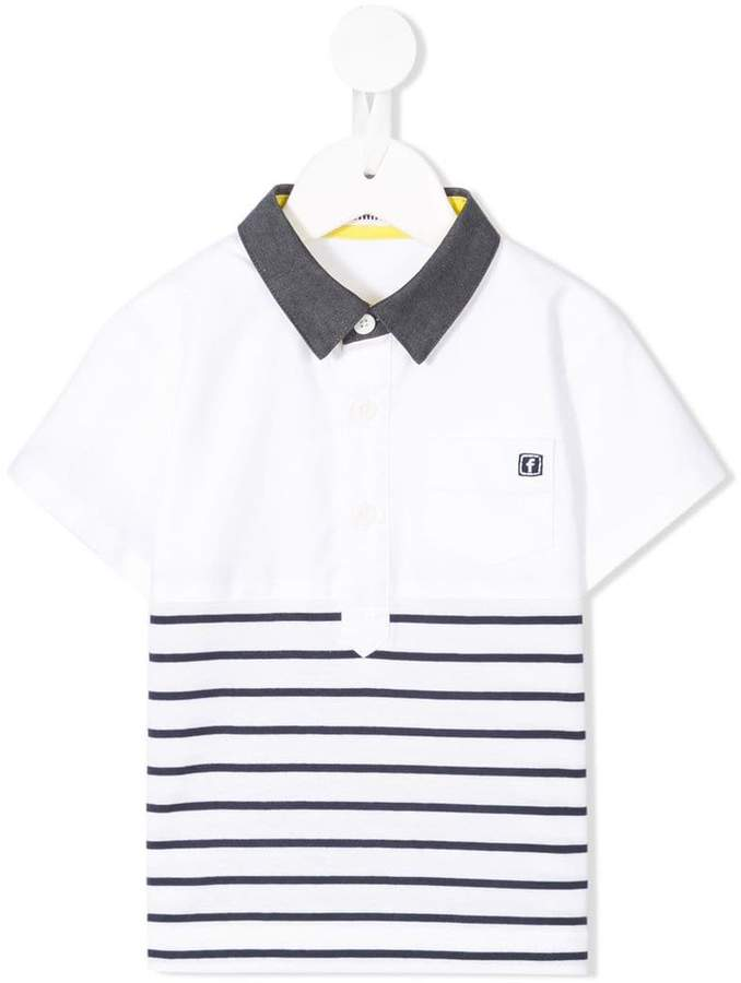 Familiar striped polo shirt