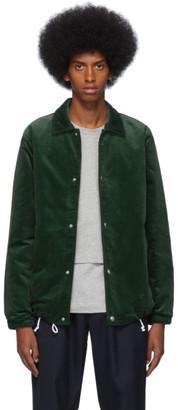 Comme des Garcons Green Corduroy Jacket