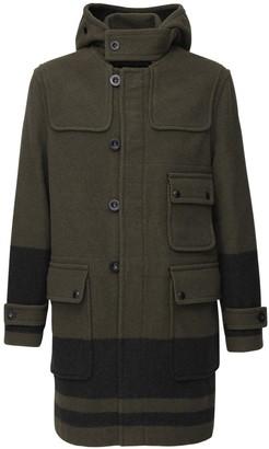 Belstaff Border Hooded Virgin Wool Duffle Coat