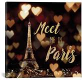 iCanvas 'Meet Me In Paris' Giclee Print Canvas Art