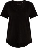 ATM Deep V-neck cotton T-shirt