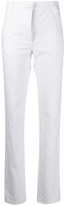 Courreges High-Rise Slim Fit Jeans