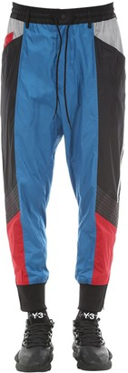Y-3 Y 3 Color Block Nylon Track Pants