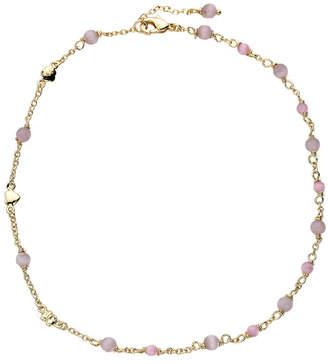 Little Miss Twin Stars Cat Eye 14K Plated Bracelet