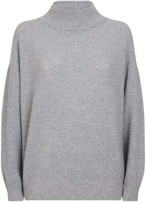 Peserico Lurex Funnel Neck Sweater
