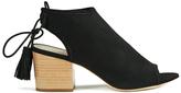Loeffler Randall Women's Lorelei Block Heeled Sandals Black