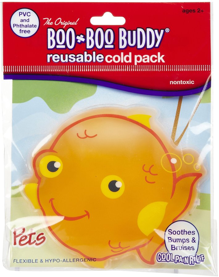 Safety First Boo Boo Buddy Cold Pack - Goldfish - 2 pk