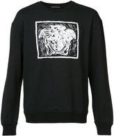 Versace contrast Medusa print sweatshirt - men - Cotton - S