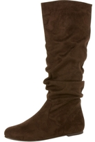 Suede Slouchy Boots